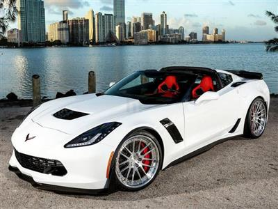 Corvette Stingray Z06 COUPE Rental Miami