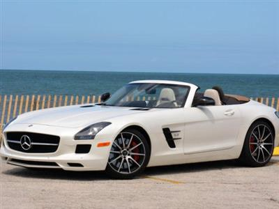 Mercedes SLS rental Miami